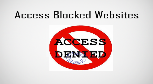 Ways to access blocked websites at schools colleges and offices ways to access blocked websites at schools colleges and offices ccuart Choice Image