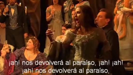 La traducción de la ópera