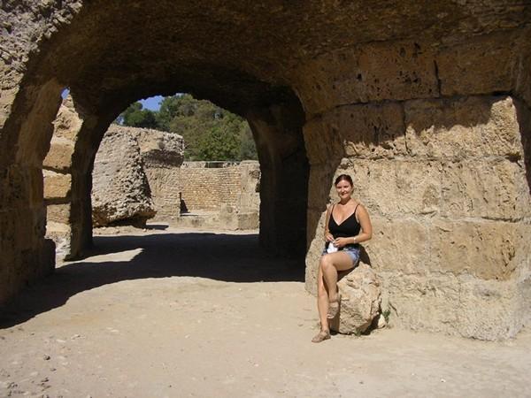 Autorka w Kartaginie
