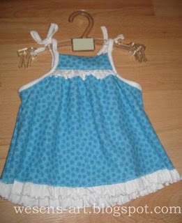 baby dress blue  wesens-art.blogspot.com