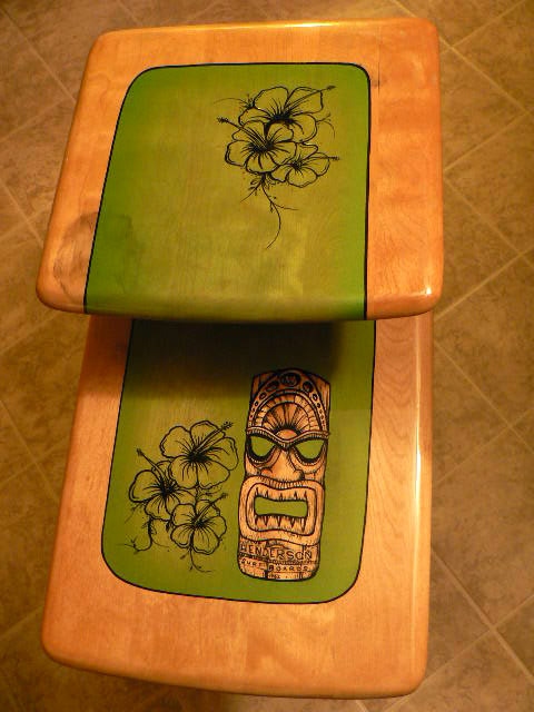 HendersonWorks Big Tiki Furniture Surfing