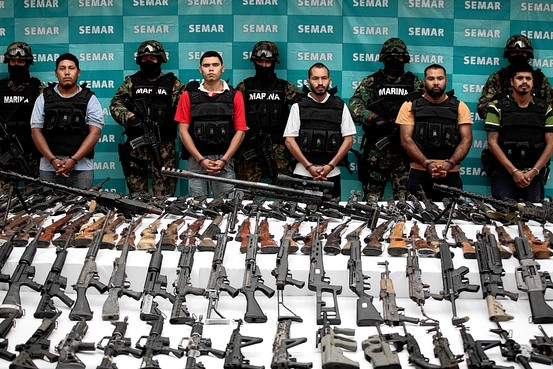Borderland Beat Mexican Guns Tied to US