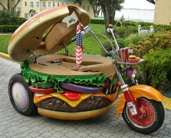 Harley Davidson hamburger model