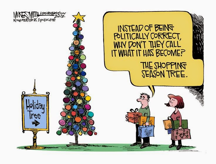 """the commercialization of christmas Predictably, mid-october finds me beginning to scrooge, by late-november i'm in high scroogery stores displaying faux mistletoe and fake holly: """"bah humbug."""