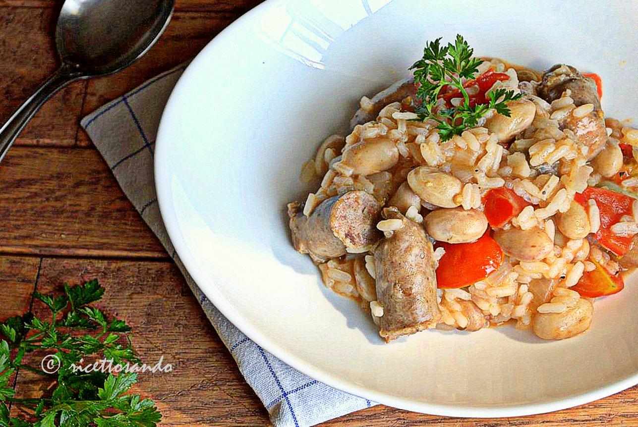 Paniscia piemontese ricetta primi e risotto della tradizione