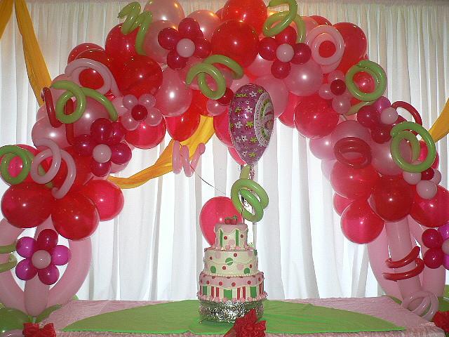 ... hiasan balon dekorasi untuk benghias ruangan yang di pakai untuk