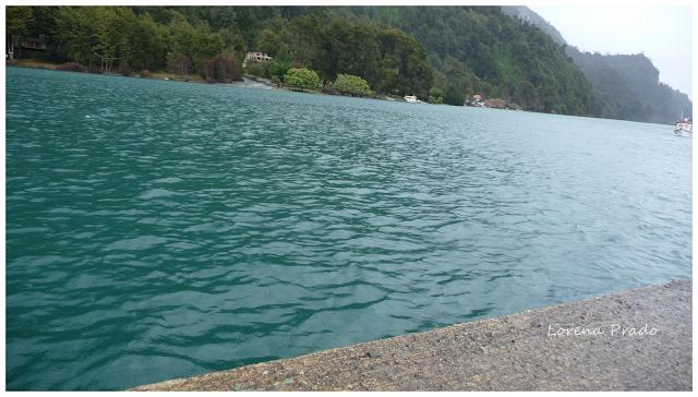 Lago de todos los santos . Chile