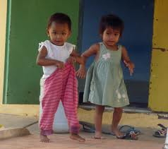 Cambodian orphans