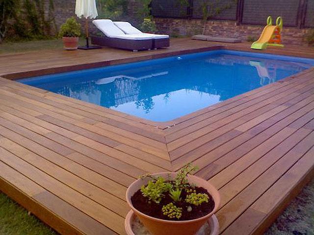 Dcorandobyalba tarima de exteriores - Decoracion piscinas exteriores ...