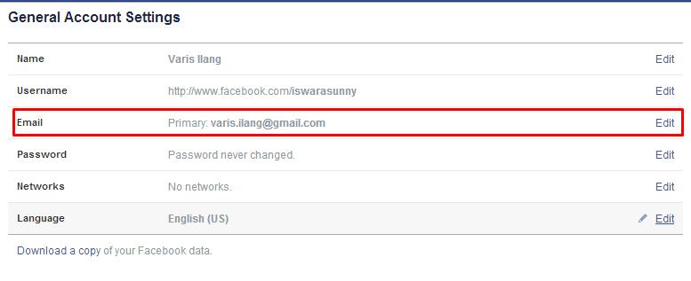 Cara Memberikan Security Berlapis Facebook 2
