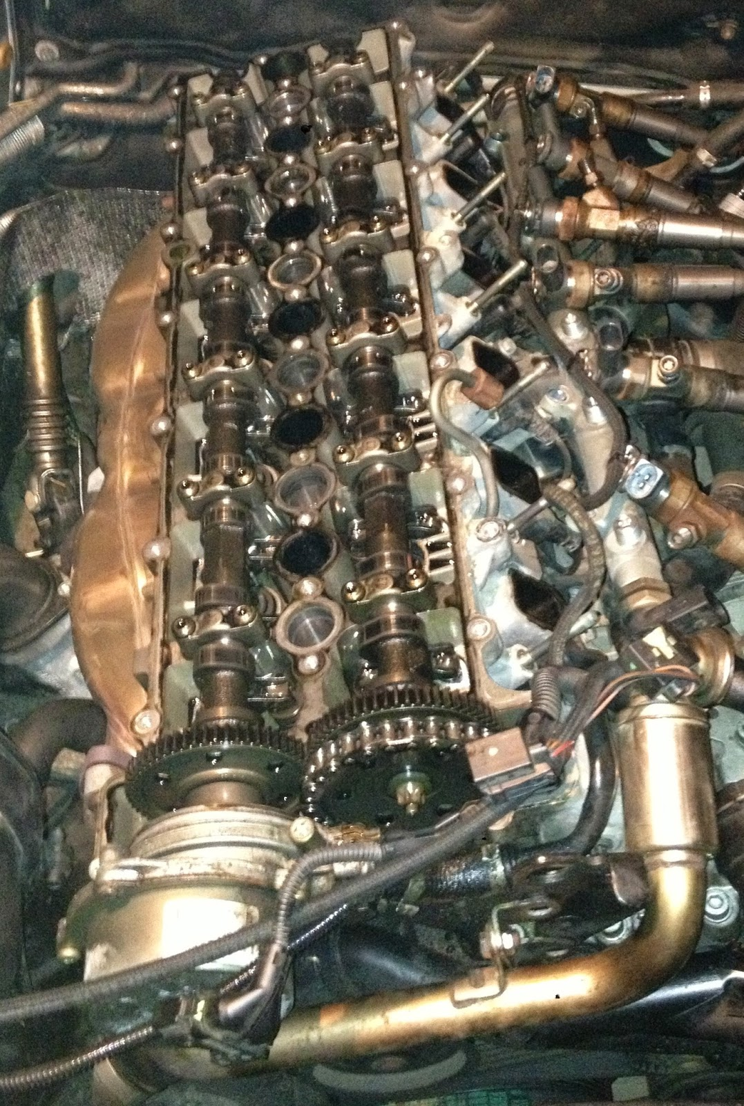 beemer lab e60 engine rebuild 3 camshafts re timing ghetto rh beemerlab blogspot com bmw 530d e60 engine diagram bmw e60 engine diagram