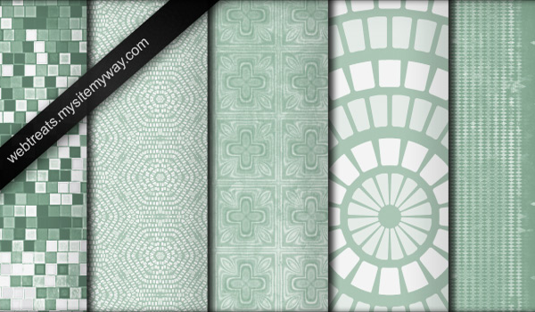 Mint Green Grunge Pattern