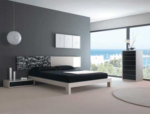 Modern bedroom designs for Chambre a coucher decoration