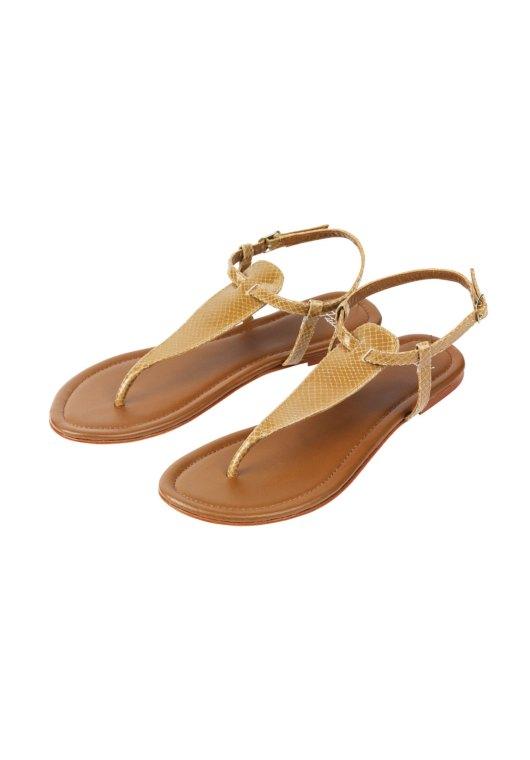 Hush Olivia Snakeskin Sandals