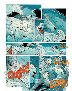 Polar,bear,king,illustration,comics,fairytales,fables