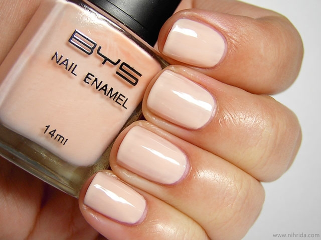 BYS Nail Polish in Pink Manicure