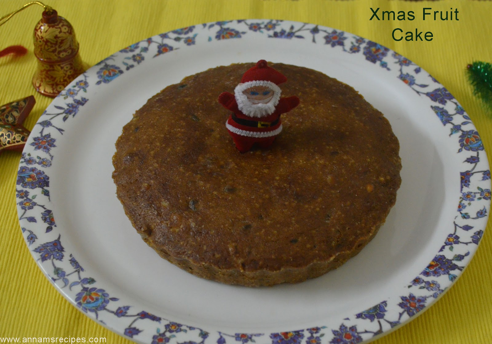 Christmas Plum Cake Recipe Annam s Recipes
