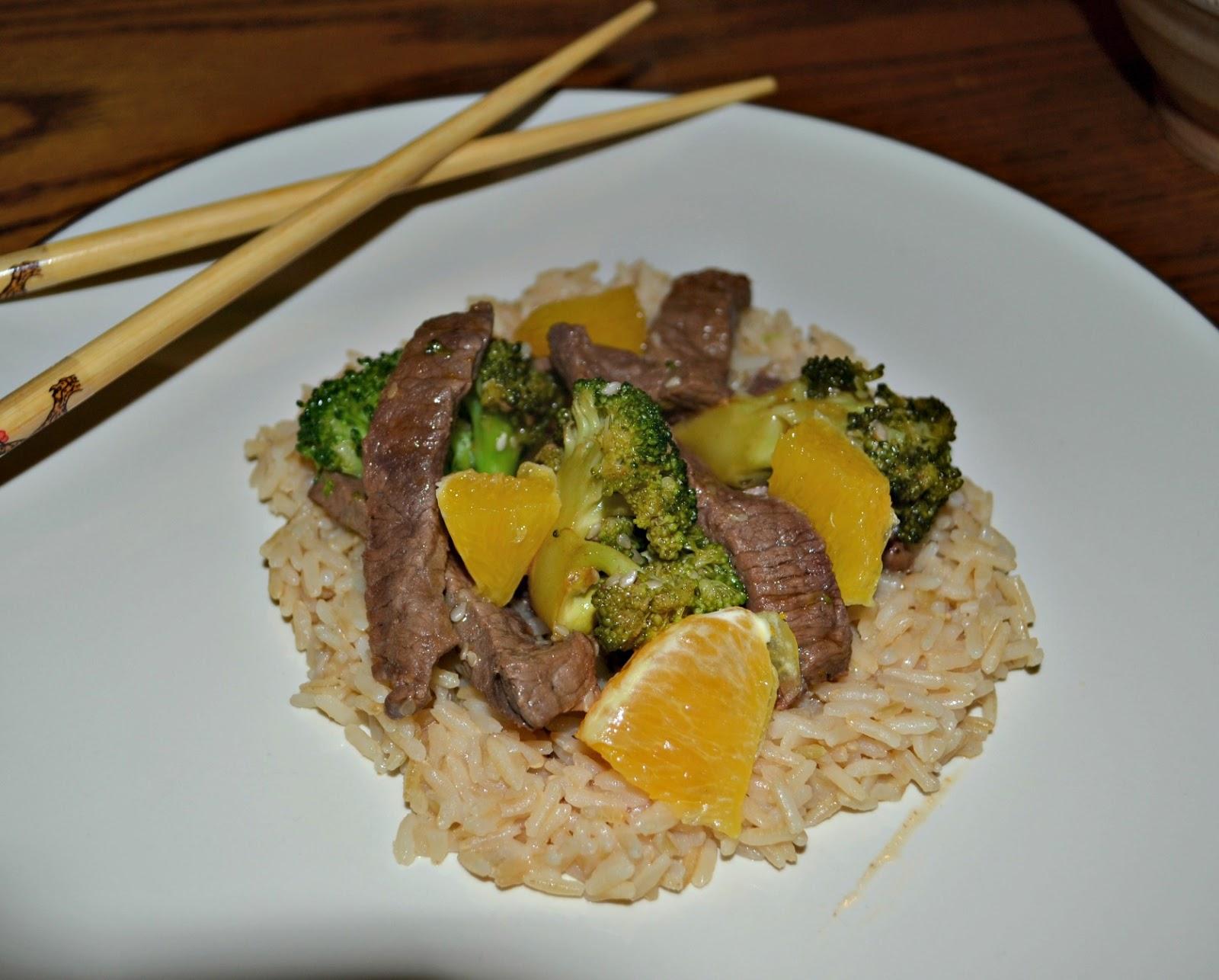 tofu stir fry broccoli tofu stir fry with brown rice orange beef style ...