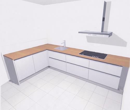 Ikea Keuken Hoekkast : de kookplaat. Aan de linkerkant komt de vaatwasser en een hoekkast