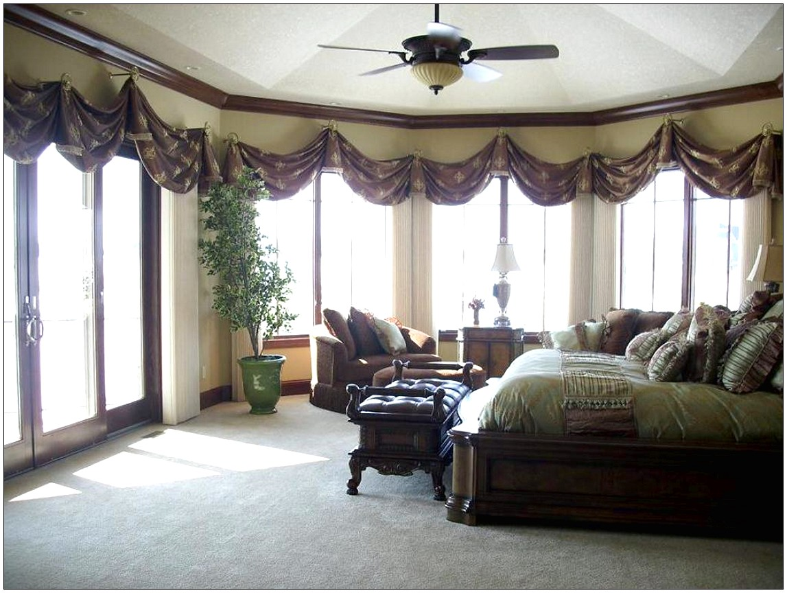 Large home window treatments large window curtain ideas for Window coverings for large picture window
