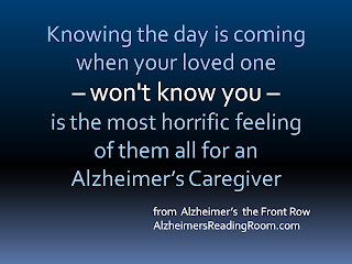 Alzheimers Reading Room Quote