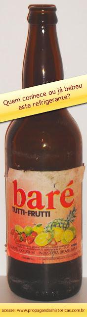 História do Refrigerante Baré. Sucesso de vendas no Brasil.