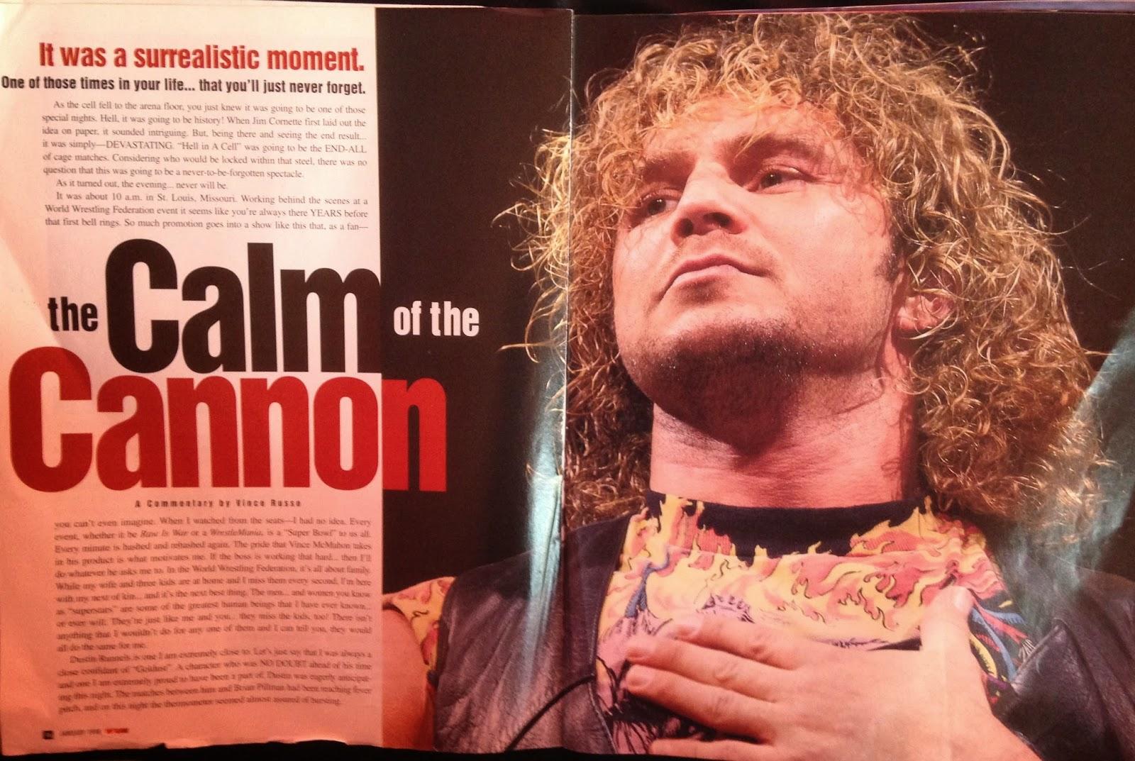 WWE: WWF RAW MAGAZINE - January 1998 - In memory of Brian Pillman