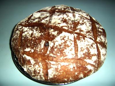 Хлеб домашний без дрожжевой на закваске