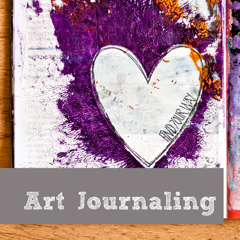 Kim Dellow Art journal gallery