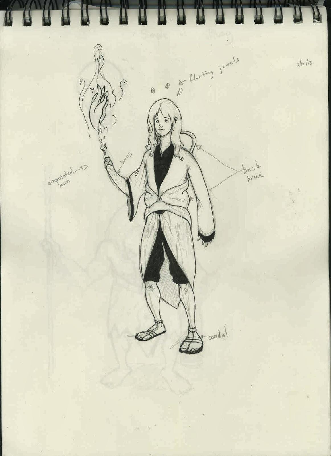 Gnomon Character Concept Design : Gnomon term character design pt ari flesch