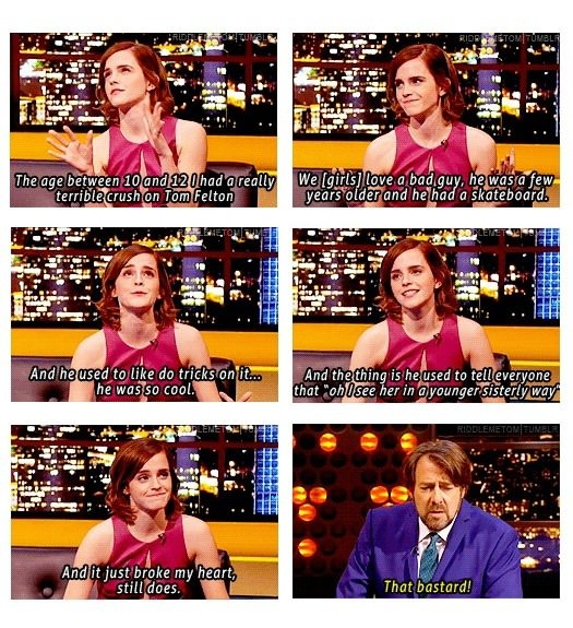 Emma Watson's True Confession About Her Childhood Crush!