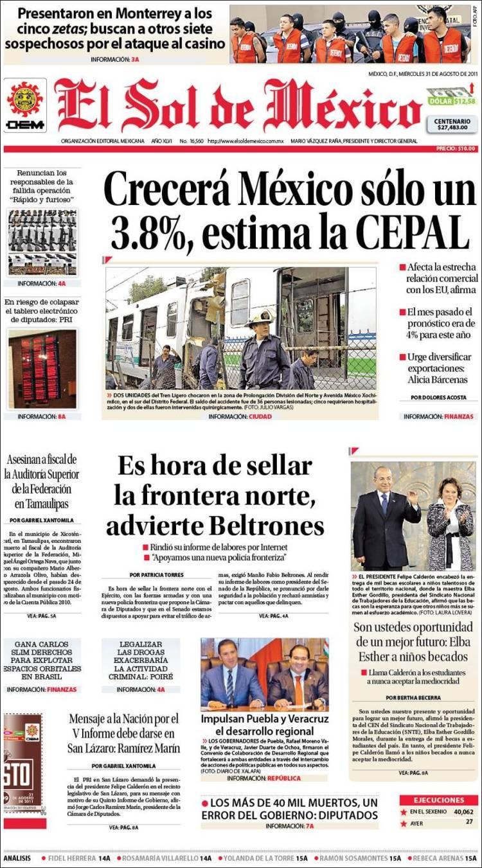 Noticias Guerrer S Sme Titulares De Peri Dicos Y Primeras