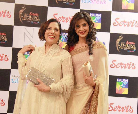 Pretty Ladies Samina Peerzada And Saba Qamar