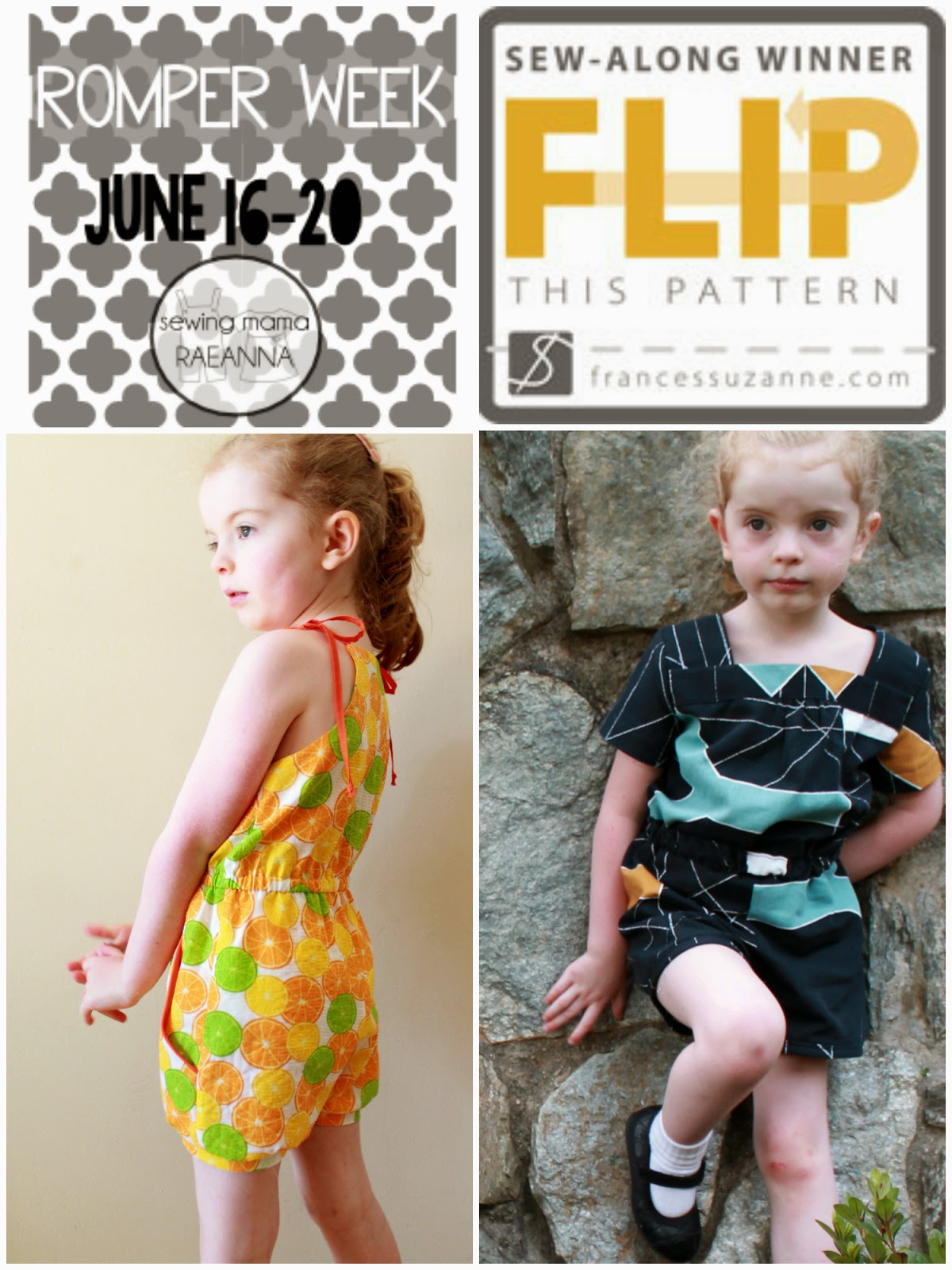 Summer Sewing 2014: Rompers | The Inspired Wren