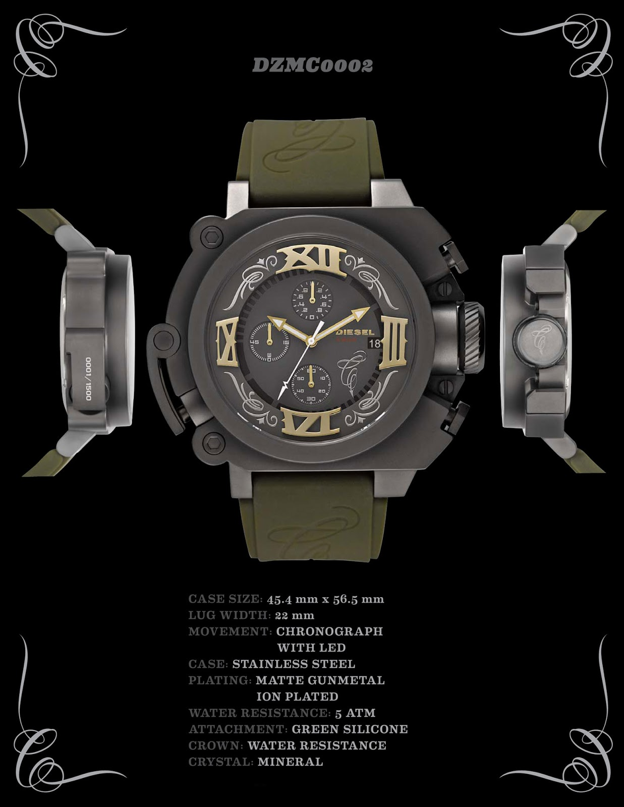 Watchismo times mister cartoon limited edition artist for Watchismo
