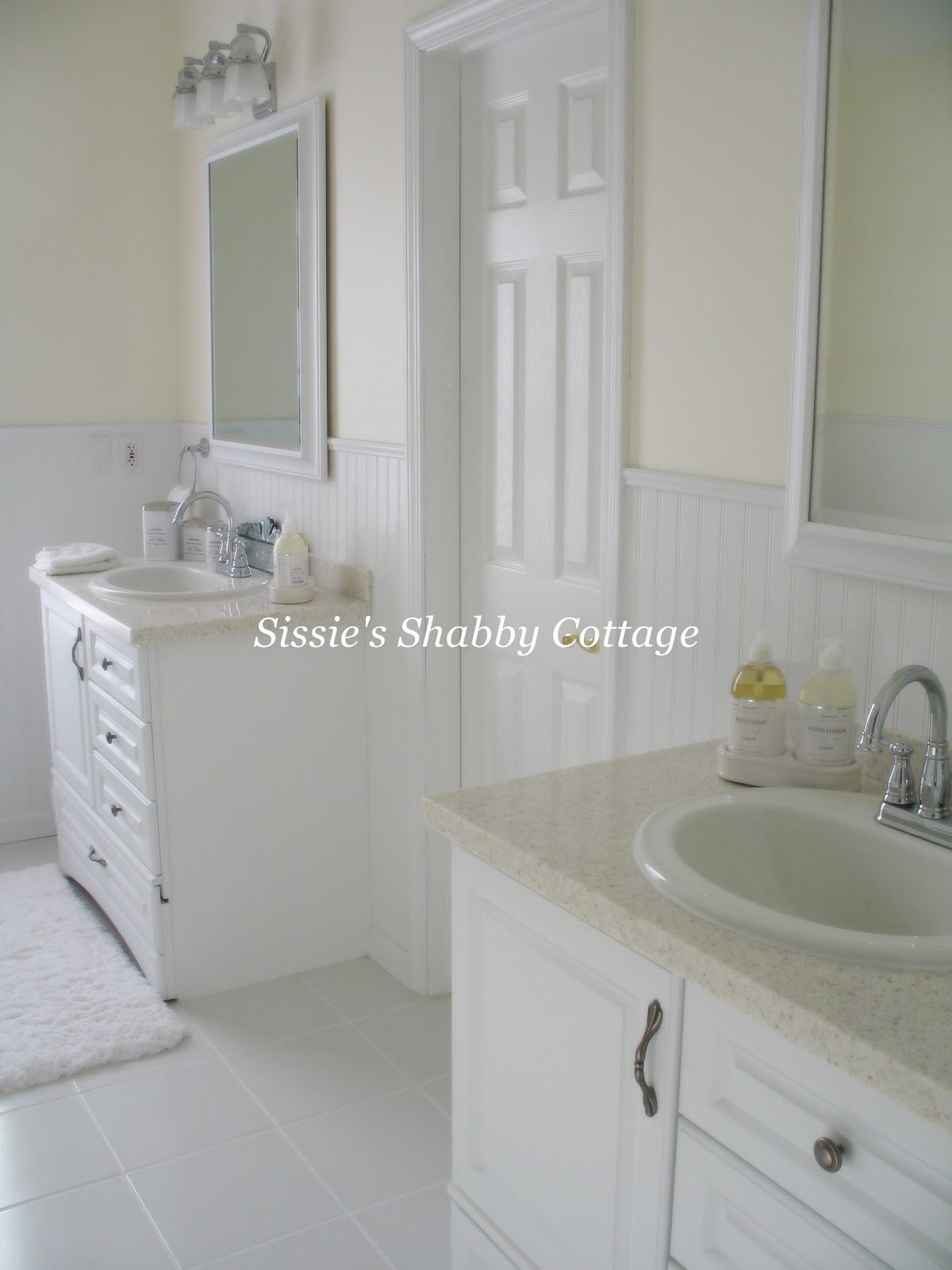 Sissie 39 s shabby cottage bathroom remodel before and after for Show me remodeled bathrooms