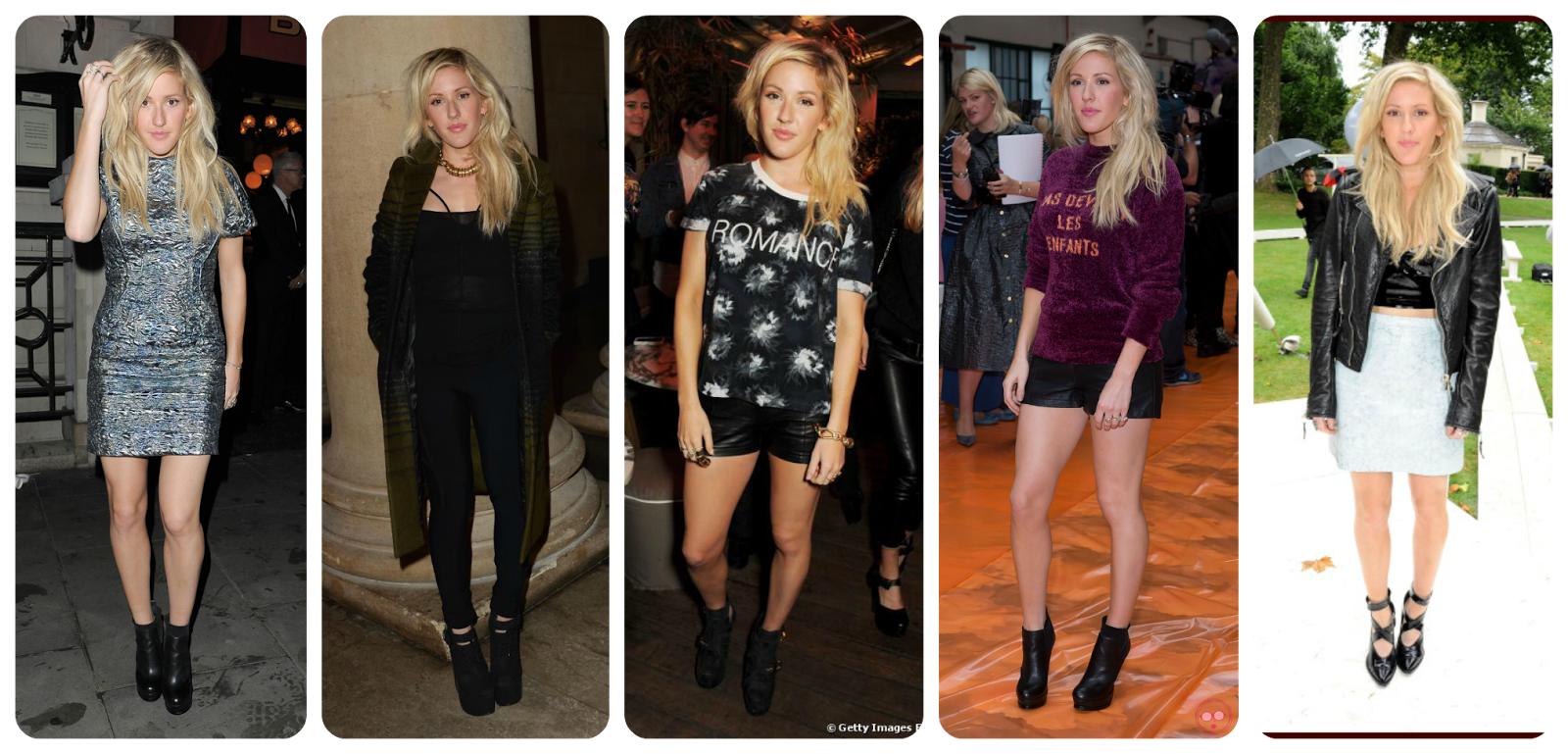 London Fashion Week 2013 - Ellie Goulding