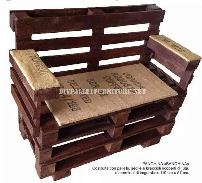 Como hacer un banco con palets paso - Como hacer un mueble con palets ...