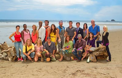 The cast of Survivor: Redemption Island