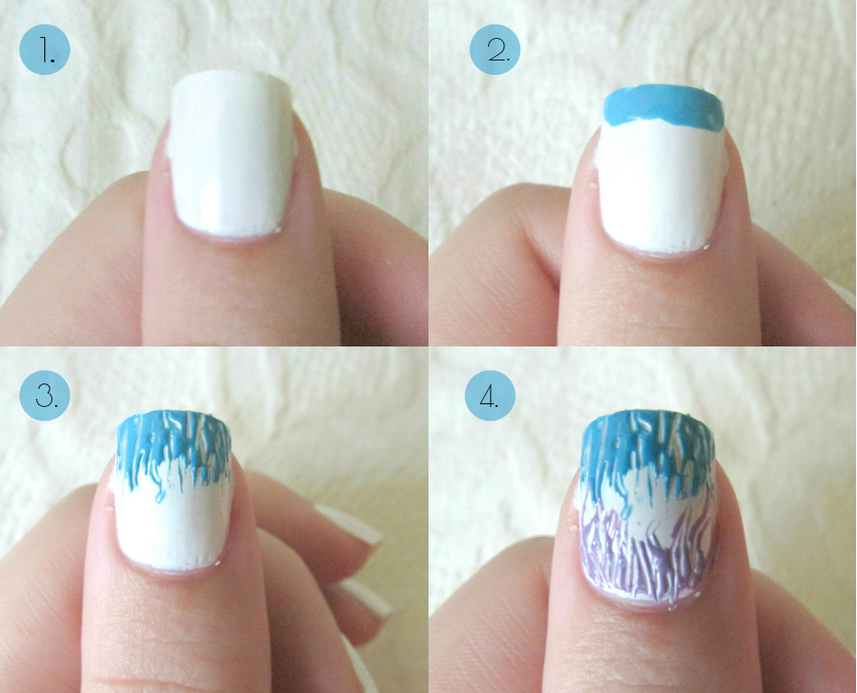 Hard Doing Your Nails But It Actually Took You 5 Mins I Put This Easy Tutorial Together For Its Really Basic Can Get So Creative With