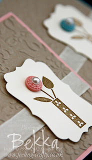 Bright Blossoms with Twitterpated Buttons from Stampin' Up!