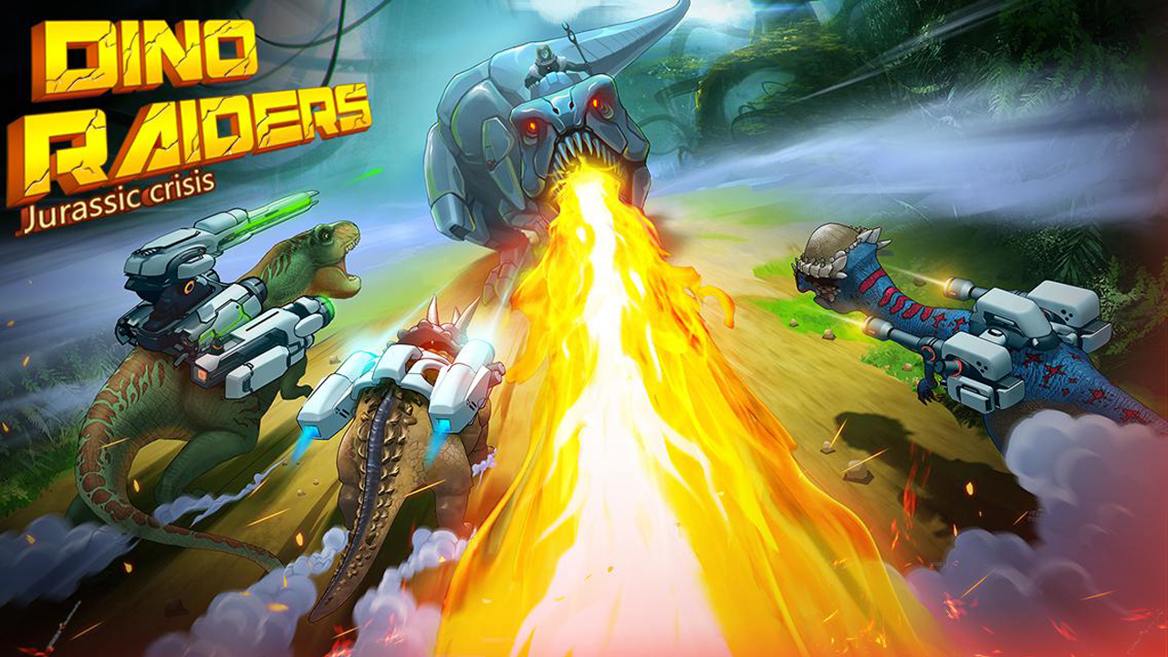 Dino-Raiders: Jurassic Crisis Gameplay Android