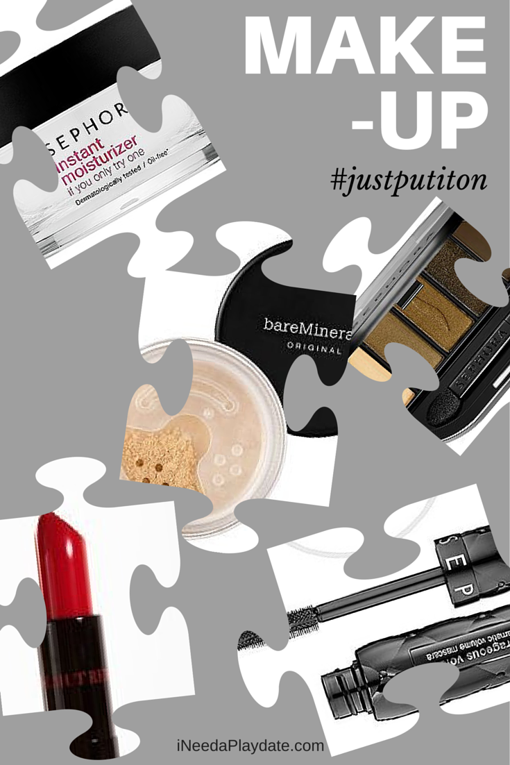 Girl, You Need Quality Makeup: 5 Essentials for Mom #justputiton