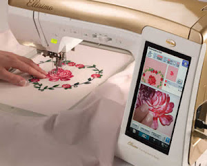 Embroidery with a  2008 Babylock Elllisimo