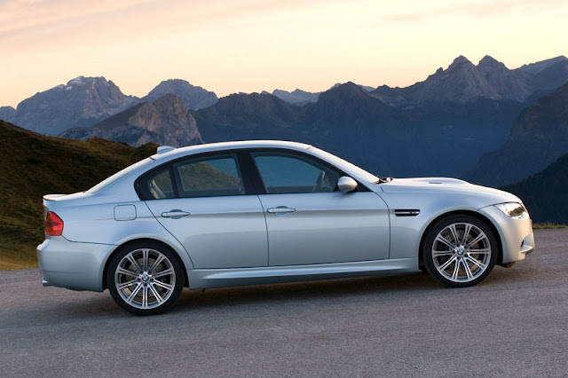 2008 BMW M3 Sedan Rear View