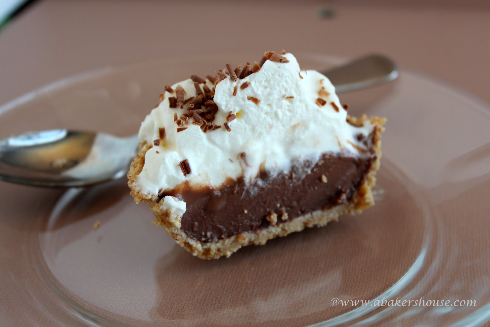 Chocolate Pudding Pie | A Baker's House