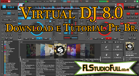Virtual DJ 8.0 | Download e Tutorial Português Br.