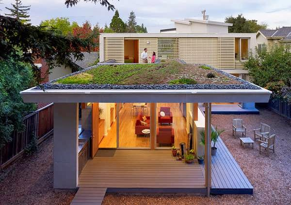 "SUNNY MODERN HOUSE DESIGN CALLED AS ""CALIFORNIA COOL"" AND ""GORGEOUS ROOFTOP GARDEN HOUSE"" FEATURING NATURAL ILLUMINATION - TOP 7 UNIQUE HOUSE DESIGN"
