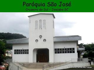 Foto da Paróquia São José, em Joaçaba (SC)