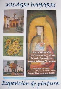 Catálogo de la Exposición de Pintura de Milagro Bayarri